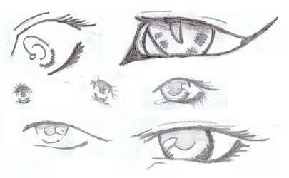 Eyes by PinkuDoragon