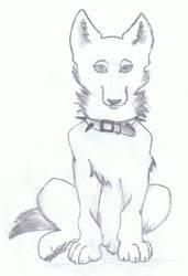 Dog by PinkuDoragon