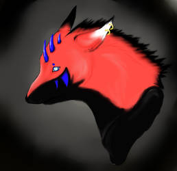 Wolf by PinkuDoragon