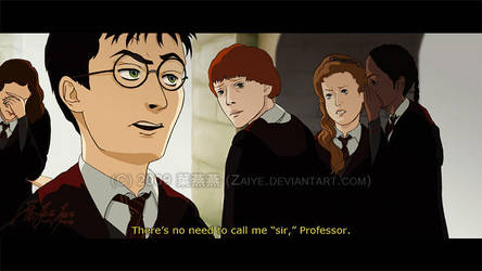 Animated Harry Potter: Yes Sir by Zaiye