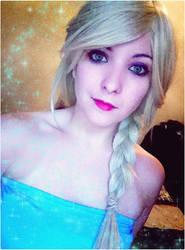 Elsa - Frozen test by Dragunova-Cosplay