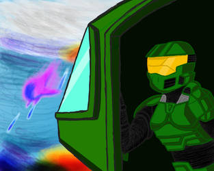 Halo: ghost of onyx art work by CanvasStories