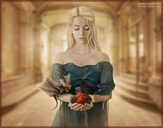 Daenerys Targaryen  by Ahmed-Al-jubouri