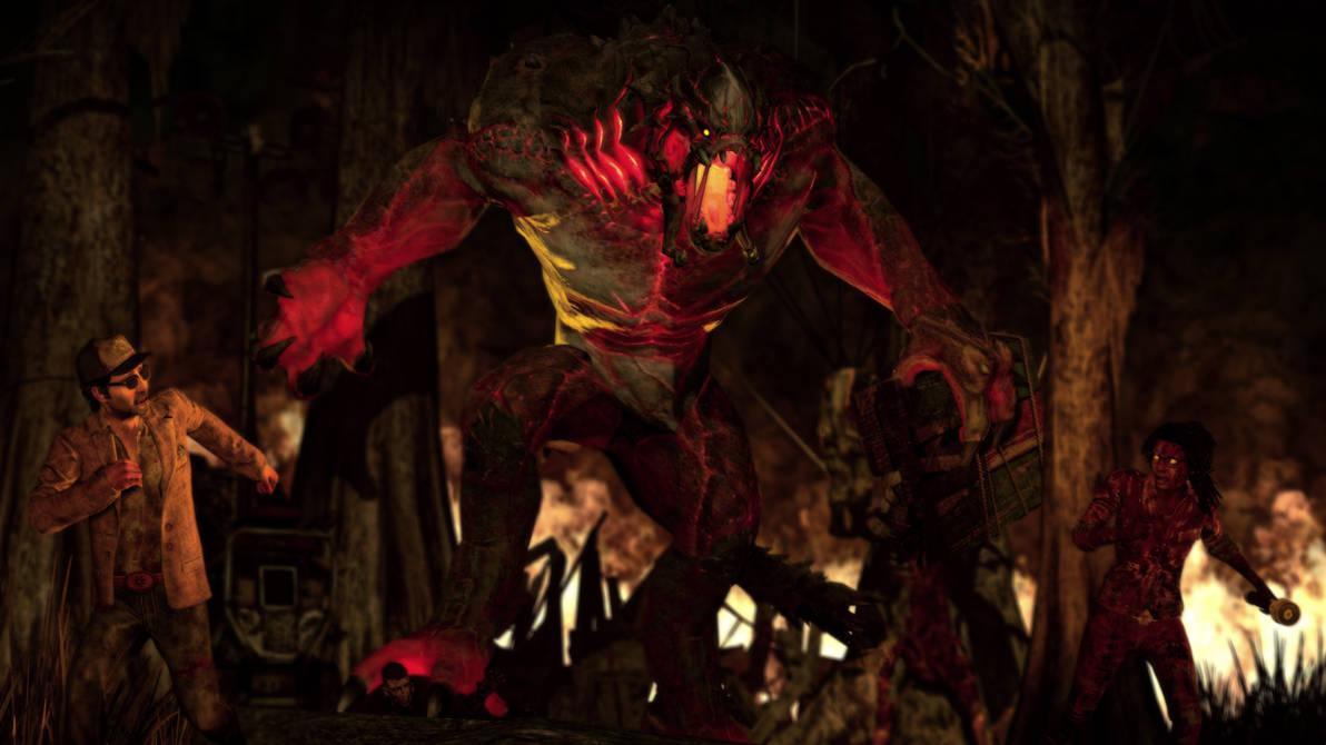 Goliath in Dead by Daylight by Darkwraith-Turk