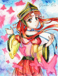 Princess Kakyuu by Yenni-Vu