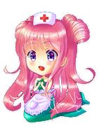 Chibi Nurse Elodie by Yenni-Vu