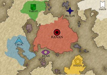 World Map (Reupload) by AngryHobgoblin