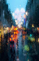 City rain custom box background by corviids