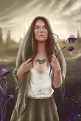 Aviendha of the Tardaad Aiel by PollyUranus