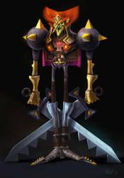 Ganondorf redesign by VincentBisschop