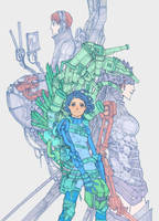 Cyberpunk thing by Veritas93
