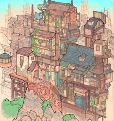 Fantasy Houses by Veritas93