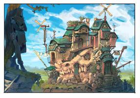 (Dead) Dragon House by Veritas93