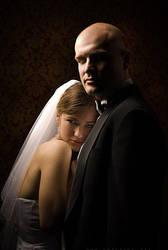 wedding portrait by andrez