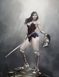 Wonder Woman by PemaMendez