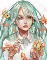 Goldfish by HEERA-art