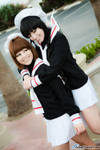 CCS Cosplay: Sakura and Tomoyo by VariaK