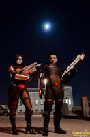 Mass Effect 3: The Shepards by VariaK
