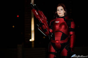 Mass Effect 3: Female Shepard Cosplay by VariaK