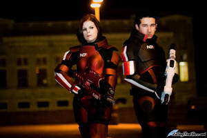 Mass Effect 3: Shepard Cosplays by VariaK