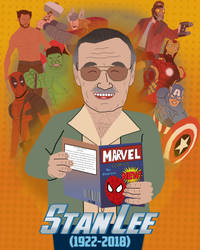 Stan Lee by AndrewSS23