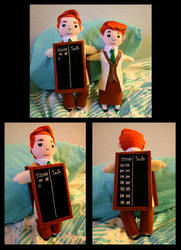 Lutece Dolls: Heads or Tails by Metatronis