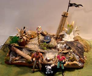 Pirate Treasure Hunters by skphile