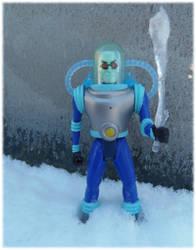 Mr. Freeze Ice Sceptre by skphile