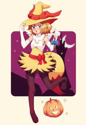 Witch Serena by DaDonYordel