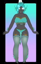 [Art Fight] Iola by Twist3d-Goddess