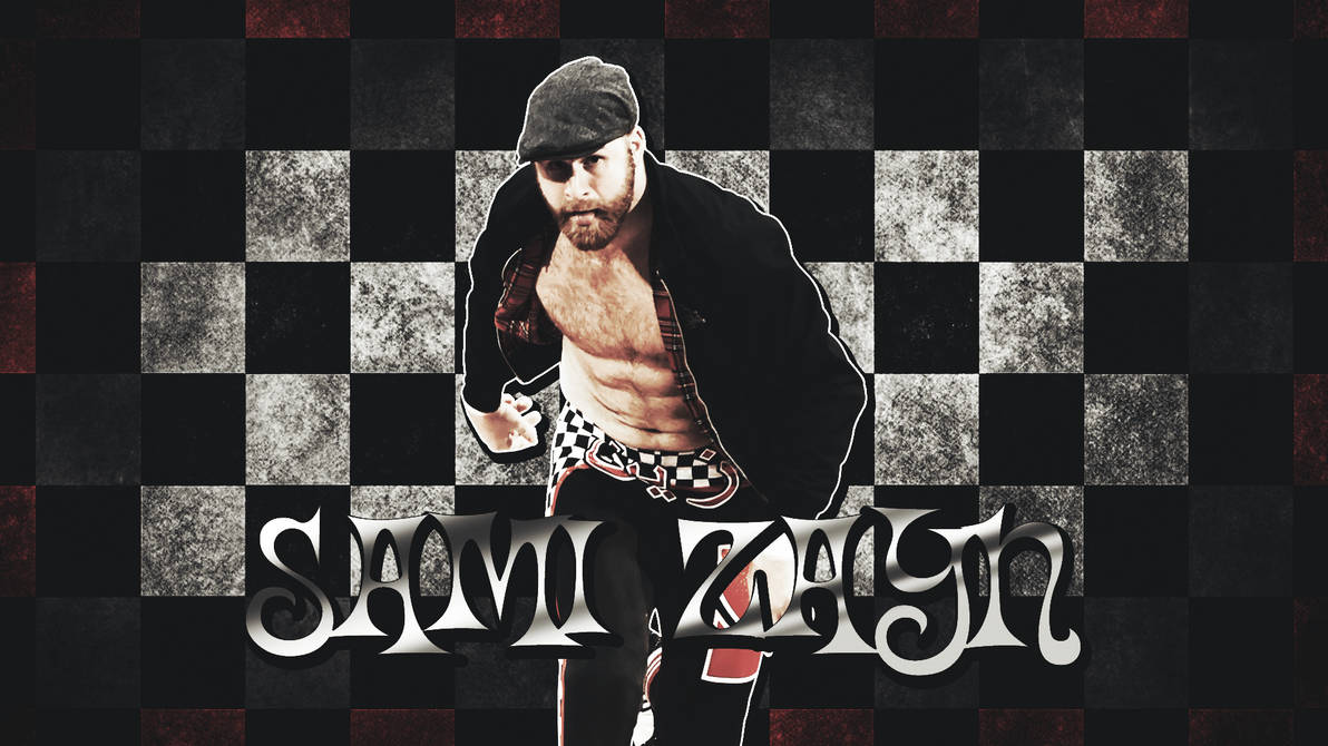 Wwe Sami Zayn Wallpaper 2016 By Lastbreathgfx On Deviantart