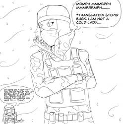 R6:Siege Frost by Evinaizer