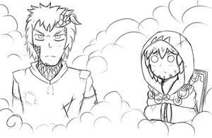 Random Sketch -  Corrupted Ones by Evinaizer