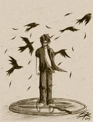 Raven Flight - Totem by CartoonJohn