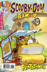 Scooby Doo Team-Up # 7 cover by DarioBrizuelaArtwork