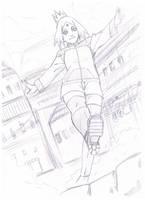 Hanako uzumaki by ZefiMankai