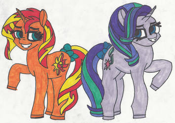 Common mares by ThePegasusEffect