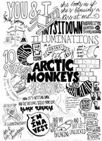 Arctic Monkeys Suck It And See Lyrics Compilation by immbc