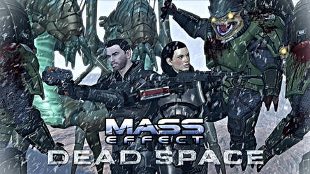 MASS EFFECT: DEAD SPACE teaser preview 2 by GothicGamerXIV
