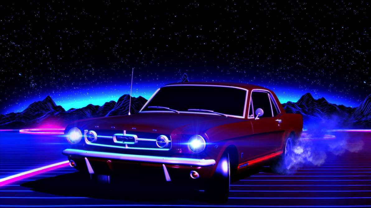 Retrowave Drift by GothicGamerXIV