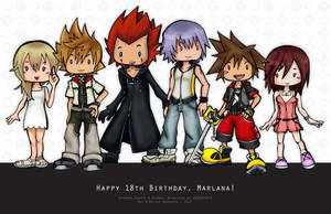 KH || Happy Birthday, Marlana! by WanderingDarkness205