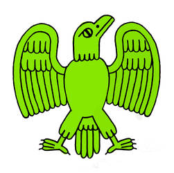 green eagle by erin-harrison