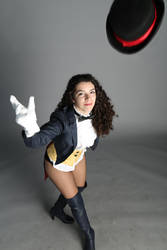 Zatanna cosplay: ready to do some magic by Marivel87