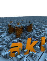 aki town by defkoul