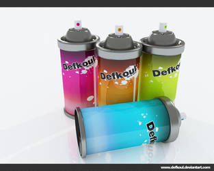 spray paint by defkoul