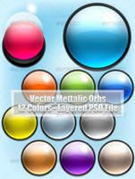 Vector Metallic Orbs by ahmadhania