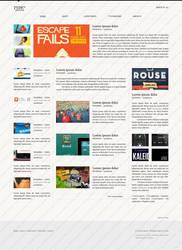 TYDY Magazine Template by ahmadhania