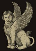 maternal sphinx by gescheitert