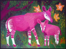 Naive Okapis by gescheitert
