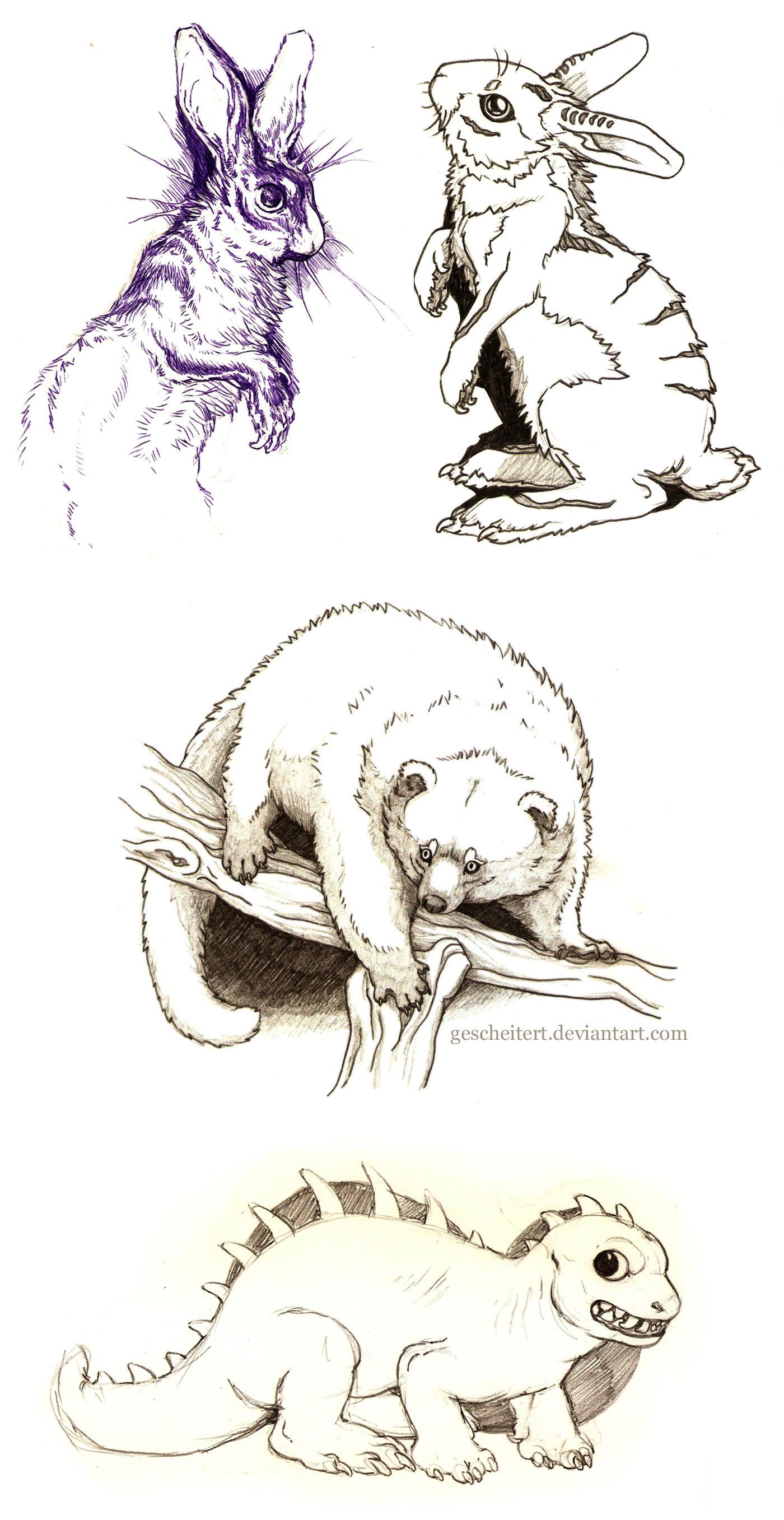 Sketches from 2014-2015 by gescheitert